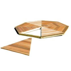 Handy Home 10' San Marino Gazebo Wood Floor Kit (19951-6)