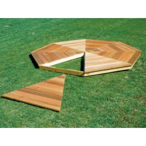 Handy Home 10x14 Monterey Gazebo Wood Floor Kit (19515-0)