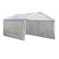 Shelter Logic 1220 Canopy Enclosure Kit - White (25774)