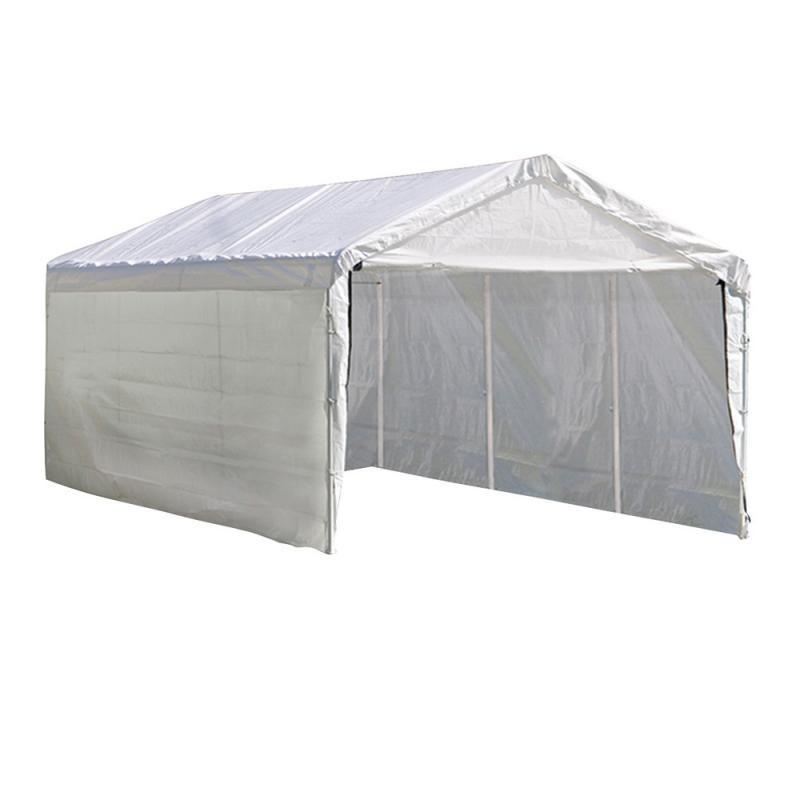 Shelter Logic 1220 Canopy Enclosure Kit - White (25774)