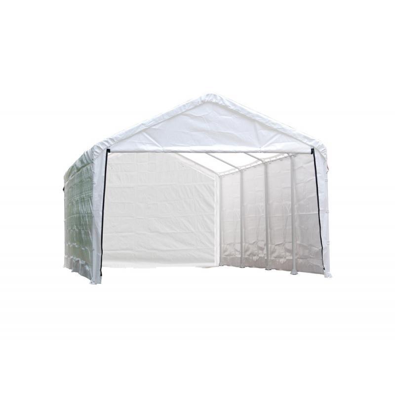 Shelter Logic 1226 Canopy Enclosure Kit - White (25776)