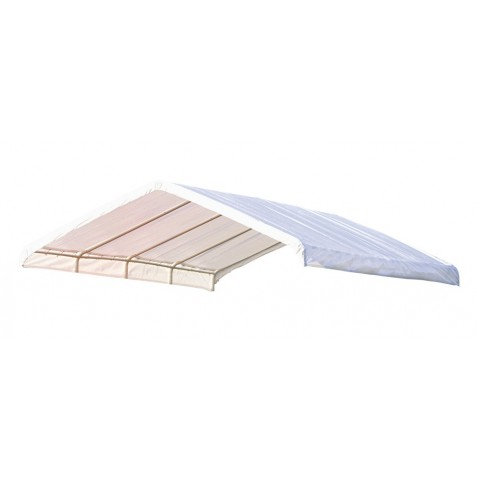 Shelter Logic 12x26 Canopy Replacement Cover - White (10059)