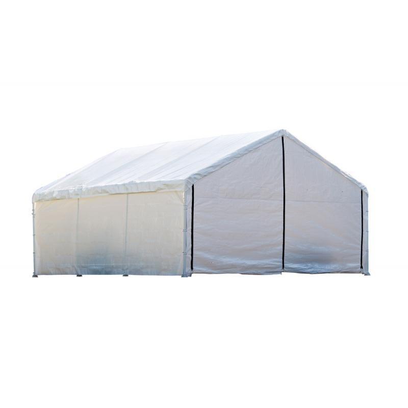 Shelter Logic 18x30 Canopy Enclosure Kit - White (26179)
