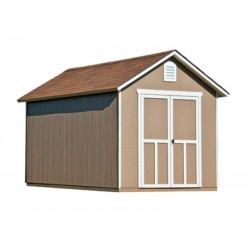 Handy Home Meridian 8x12 Wood Storage Shed Kit w/ Floor (19350-7)