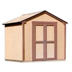 Handy Home Kingston 8x8 Wood Storage Shed w/ Floor (18276-1)