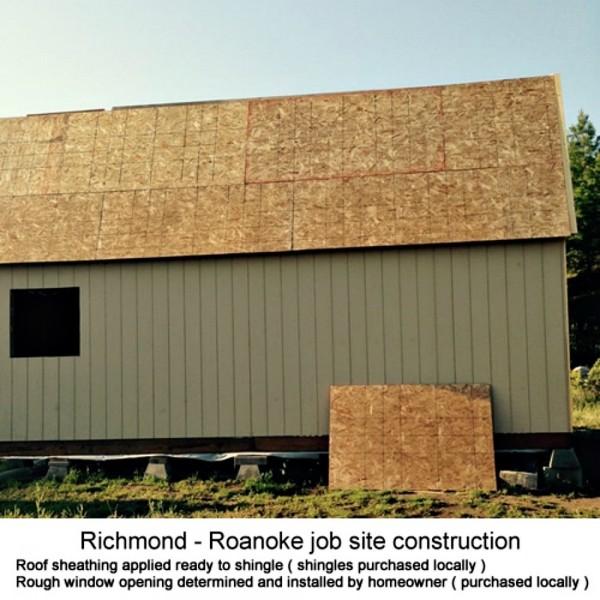 Best barns richmond 16x24 wood storage shed kit richmond1624 for 16x24 garage kit