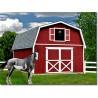 Best Barns Roanoke 16x20 Wood Storage Shed Kit (roanoke1620)