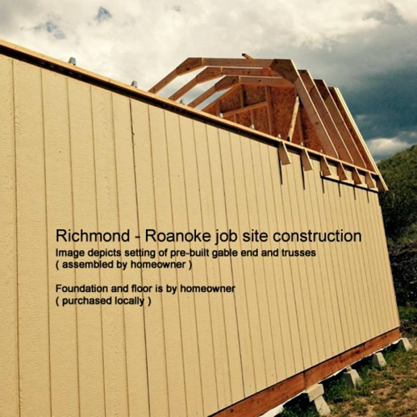 Best Barns Roanoke 16x20 Wood Storage Shed Kit Roanoke1620