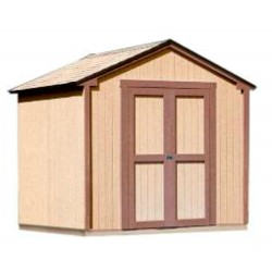 Handy Home Kingston 8x8 Wood Storage Shed Kit (18275-4)