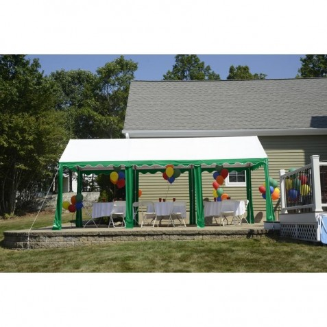 Shelter Logic 10x20 Party Tent - Green / White (25889)  sc 1 st  ShedsDirect.com & Logic 10x20 Party Tent - Green / White (25889)