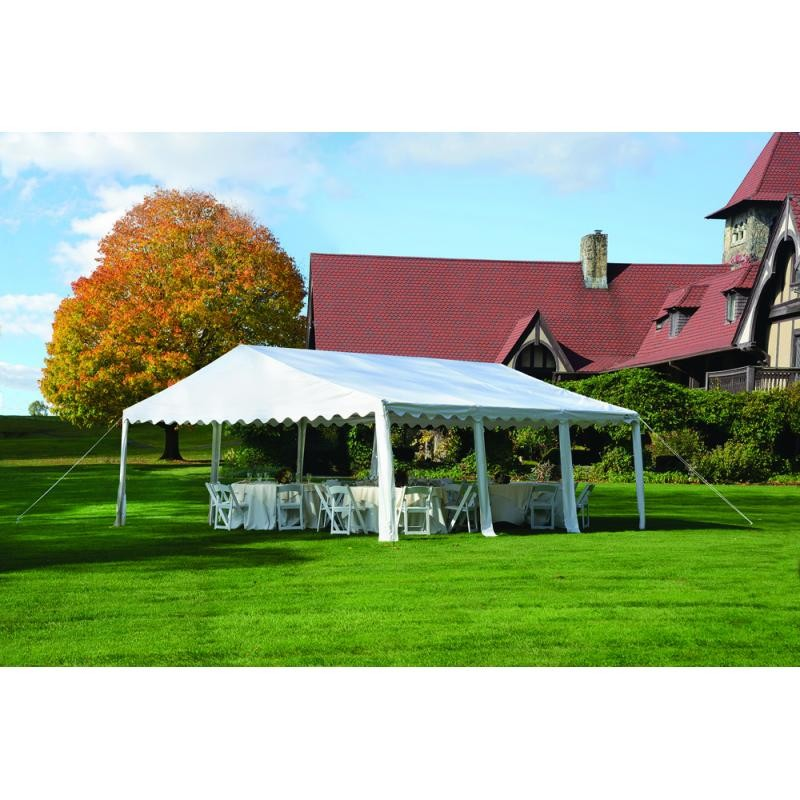 sc 1 st  ShedsDirect.com & Shelter Logic 20x20 Party Tent Kit - White (25917)