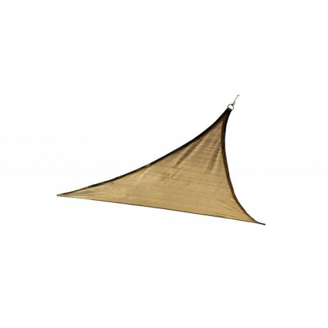 Shelter Logic 12ft Triangle Shade Sail - Sand (25720)