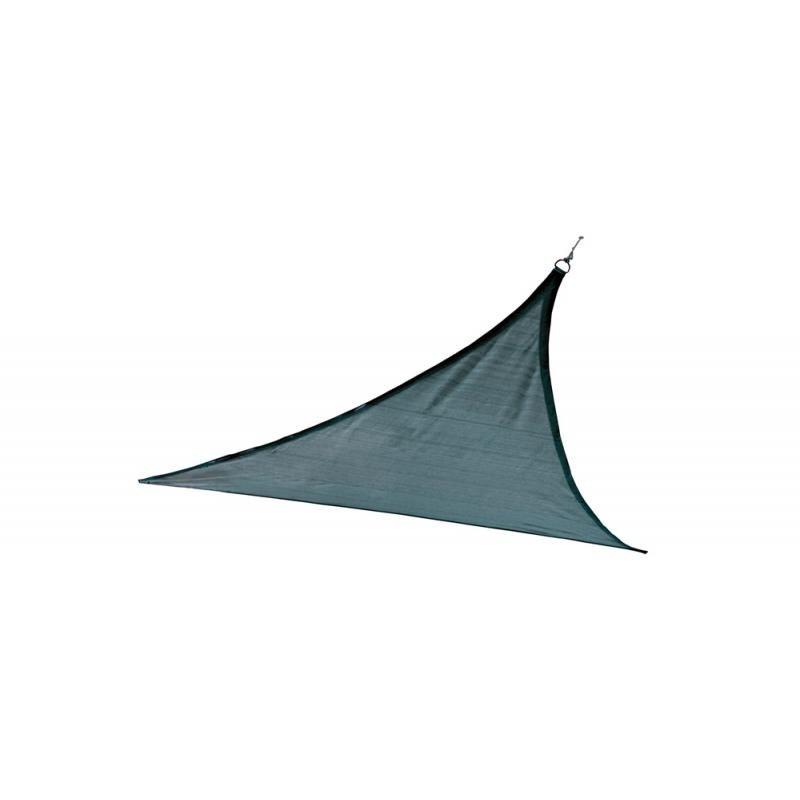 Shelter Logic 12ft Triangle Shade Sail - Sea (25733)
