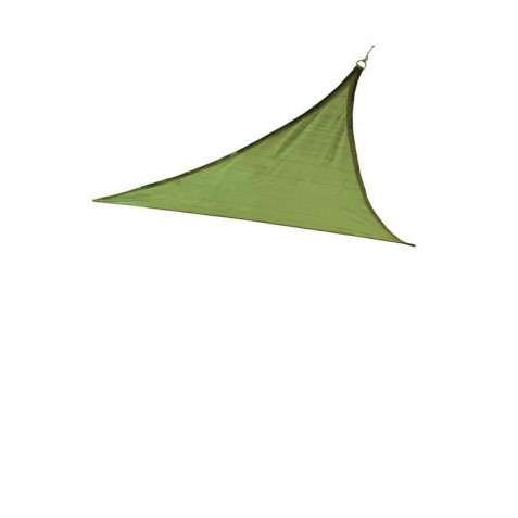Shelter Logic 12ft Triangle Shade Sail - Lime Green (25674)
