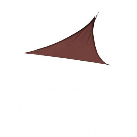 Shelter Logic 12ft Triangle Shade Sail - Terracotta (25670)