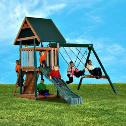 Handy Home Mongoose Manor Wood Swing Set Kit (4301)