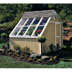 Handy Home Phoenix 8x10 Solar Shed Greenhouse Kit w/ Floor (18160-3)