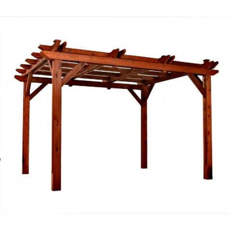 Handy Home Montego Bay 10x12 Pine Pergola (19545-7)