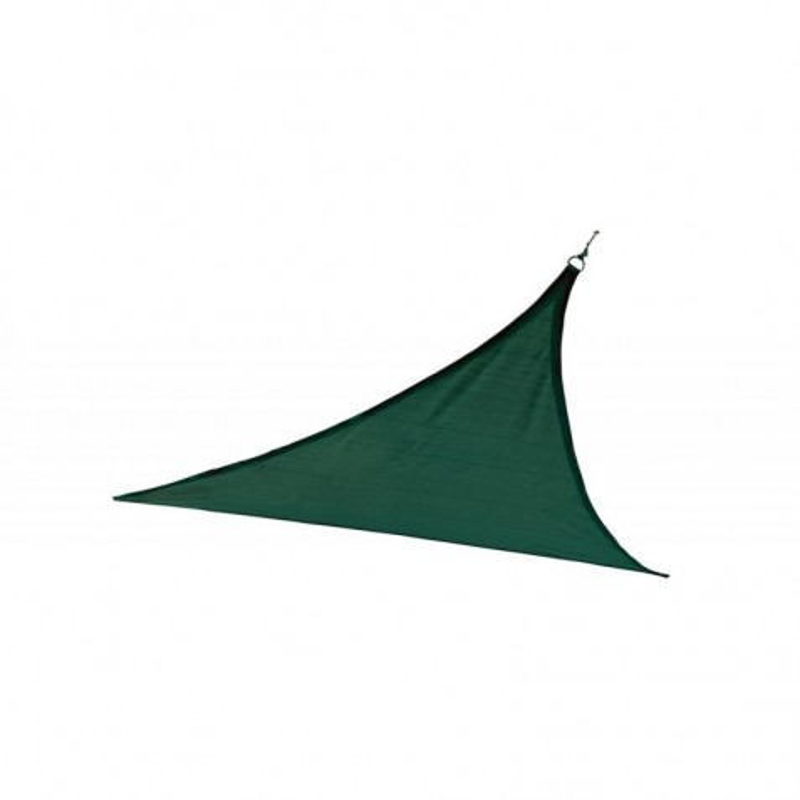 Shelter Logic 16ft Triangle Shade Sail - Evergreen (25725)