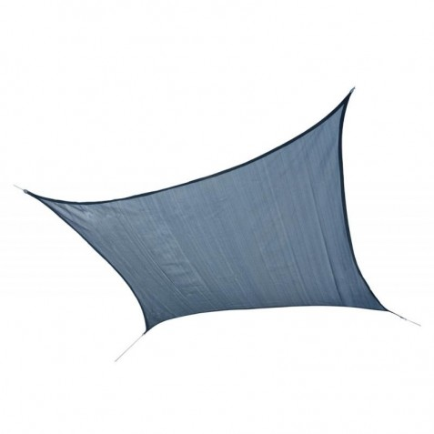 Shelter Logic 12ft Square Shade Sail - Sea (25735)