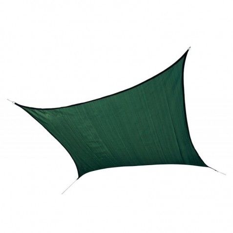 Shelter Logic 16ft Square Shade Sail - Evergreen (25727)