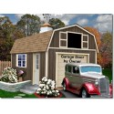 Tahoe 12x16 Wood Storage Garage Shed Kit (tahoe_1216)