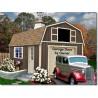 Tahoe 12x16 Wood Storage Garage Shed Kit (tahoe_1216)