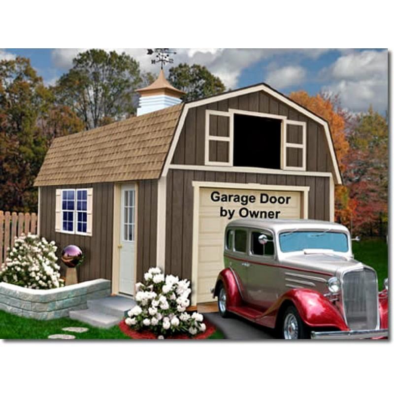 Tahoe 12x20 Wood Storage Garage Shed Kit (tahoe_1220)