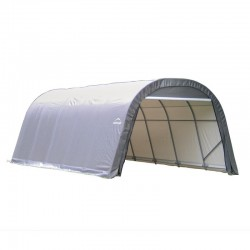 Shelter Logic 12x20x8 Round Style Shelter Kit - Grey (71332)