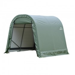 Shelter Logic 11x12x10 Round Style Shelter Kit - Green (77827)