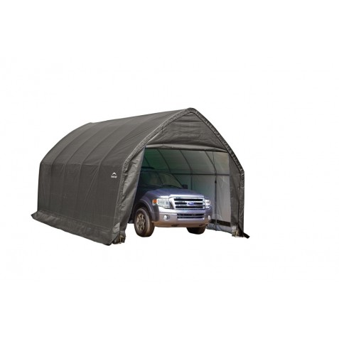 Shelter Logic 13x20x12 SUV -Truck Garage Kit - Grey (62693)
