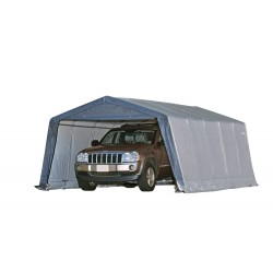 Shelter Logic 12x20x8 Peak Style Shelter Kit  Grey 62790
