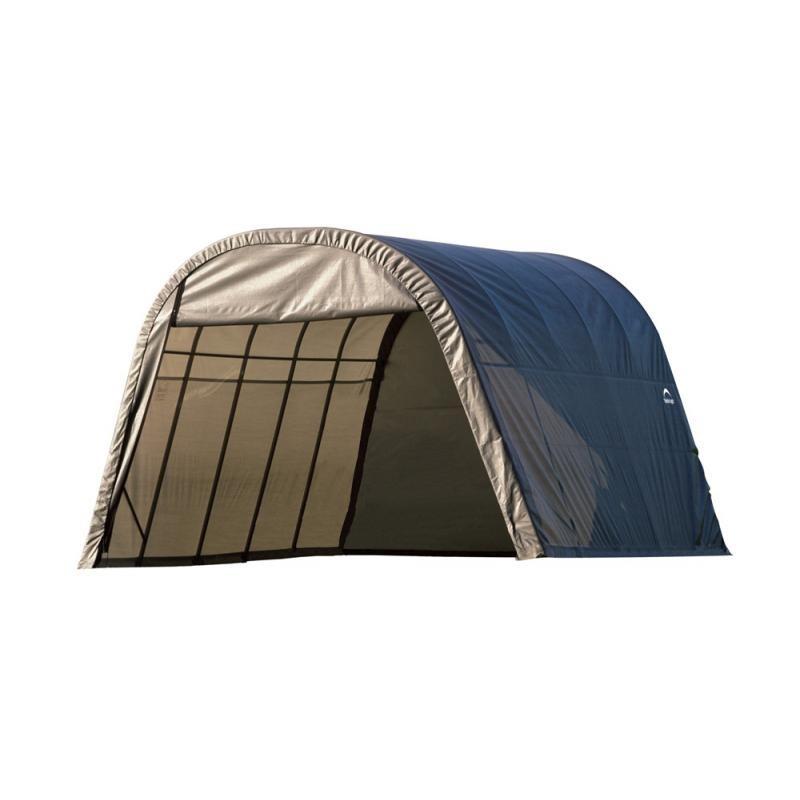 Shelter Logic 13x20x10 Round Style Shelter Kit - Grey (73332)