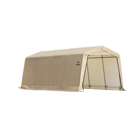 Shelter Logic 10X20 Peak Style Auto Shelter Kit - Sandstone (62680)