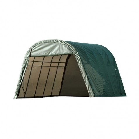 Shelter Logic 13x20x10 Round Style Shelter Kit - Green (73342)