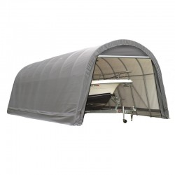 Shelter Logic 12x24x10 Round Style Shelter Kit - Grey (74332)