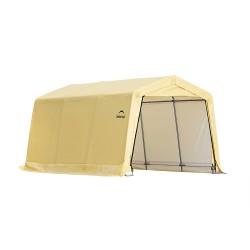 Shelter Logic 10X15x8 Auto Shelter Kit Peak Style Frame - Sandstone (62681)