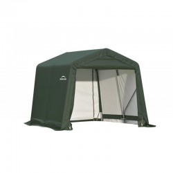 Shelter Logic 8x8x8 Peak Style Shed Shelter Kit - Green (71804)