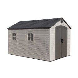 Lifetime 8x12.5 Plastic Storage Shed Kit w/ Floor (6402)