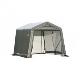 Shelter Logic 8x16x8 Peak Style Shelter Kit - Grey (71823)