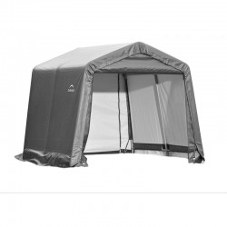 Shelter Logic 10x12x8 Peak Style Shelter Kit - Grey (72813)