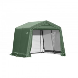 Shelter Logic 10x12x8 Peak Style Shelter Kit - Green (72814)
