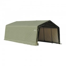 Shelter Logic 12x20x8 Peak Style Auto Garage Kit - Green (71444)