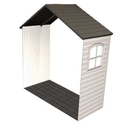 Lifetime 8' x 2.5' Storage Shed Expansion Kit with One Window (6424)
