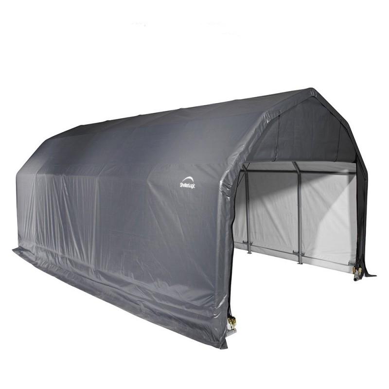Shelter Logic 12x24x11 Barn Shelter Kit - Grey (90153)