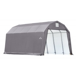 Shelter Logic 12x20x11 Barn Shelter Kit - Grey (90053)