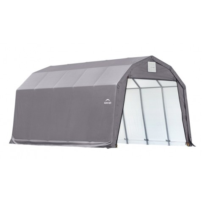Shelter Logic 12x20x11 Barn Shelter Kit - Grey (90053)