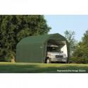 Shelter Logic 12x28x9 Barn Shelter Kit - Green (97254)
