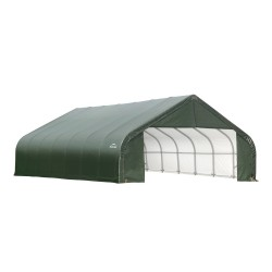 Shelter Logic 30x28x20 Peak Style Shelter Kit - Green (86071)