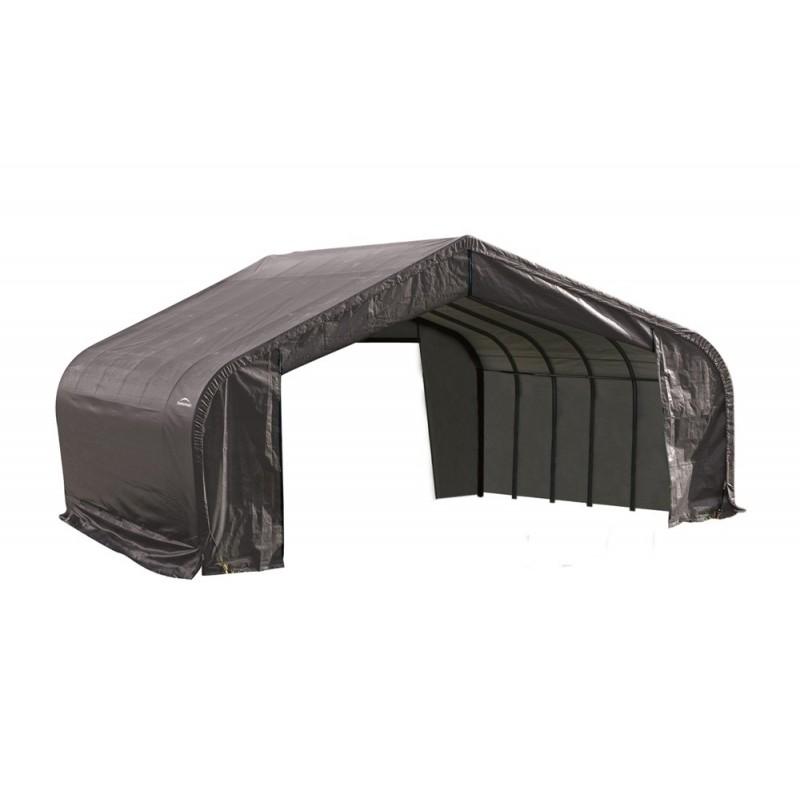Shelter Logic 22x28x13 Peak Style Shelter Kit Grey 82243